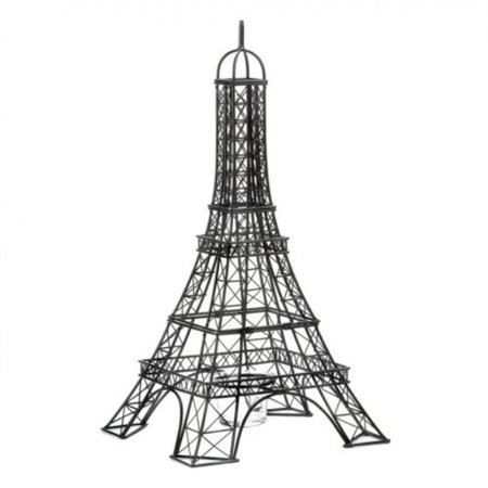 eiffel tower candle holder ()
