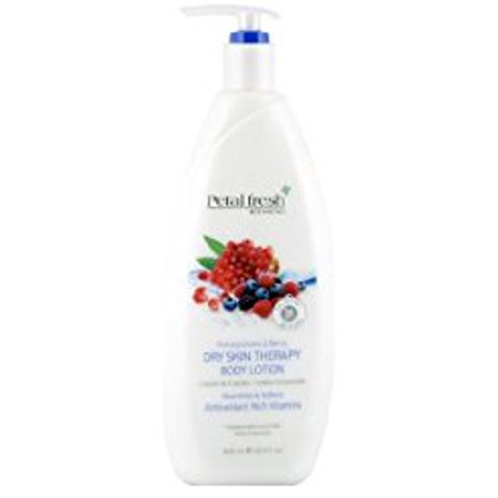 Berry Lotion (Bio Creative Labs Petal Fresh Botanicals Dry Skin Therapy Hand Body Lotion with Vitamin E Pomegranate & Berry 20.3oz/600mL )