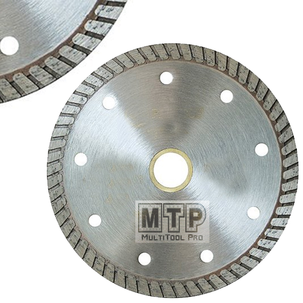 Stadea Diamond Saw Blade 6-Inch Continuous Turbo For Grinder Granite Dry Cutting