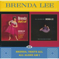Brenda That's All / All Alone Am I (CD)