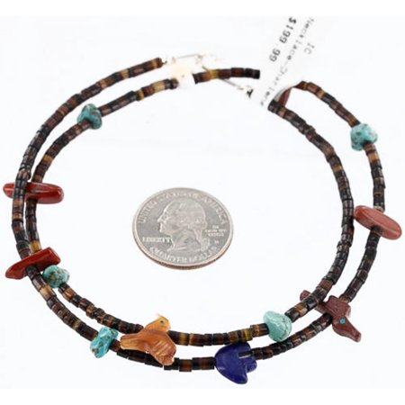 Lapis Jasper (Certified Authentic Navajo 925 Sterling Silver Turquoise, JASPER and LAPIS Native American)