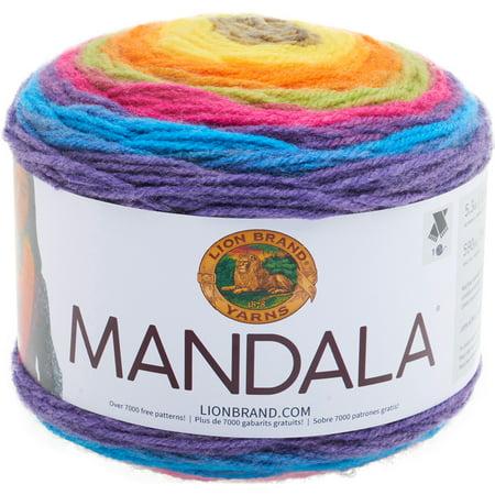 Lion Brand Yarns Acrylic Mandala Gnome Yarn, 1 Each