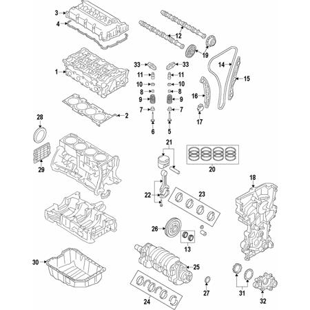Hyundai Elantra GT Oil Pan, Oil Pan for Hyundai Elantra GT