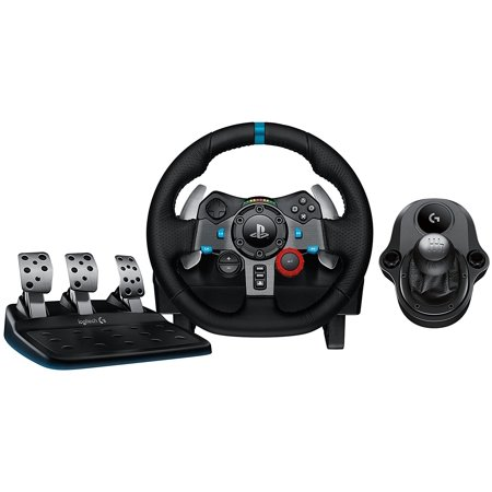 7467a9b3954 Refurbished Logitech G29 Driving Force Race Wheel PS4 + Logi G Driving  Force Shifter Bundle - Walmart.com