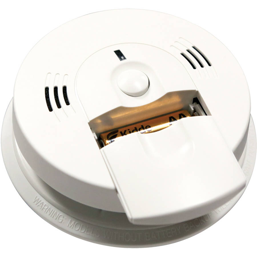 Kidde Hardwired Combination Carbon Monoxide and Smoke Alarm with Battery Backup and Voice Warning
