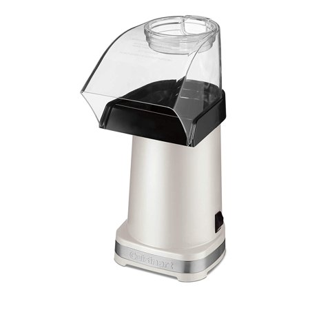 Cuisinart CPM-100WMSLTFR White Hot Air Popcorn Maker One Size  (Certified Refurbished) ()