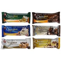 Quest Bar- Variety Pack 6 Flavors- ( Pack of 12 )