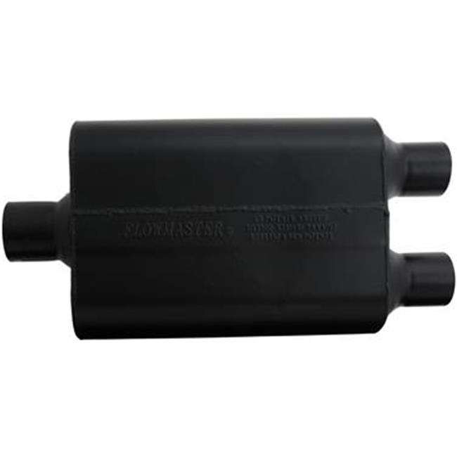 "Flowmaster Super 44 Muffler 2-1//2/"" Center Inlet Dual 2-1//4/"" Outlets 9425452"