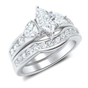 his and hers wedding ring set matching wedding bands for him and her 7 - Wedding Ring Set For Her