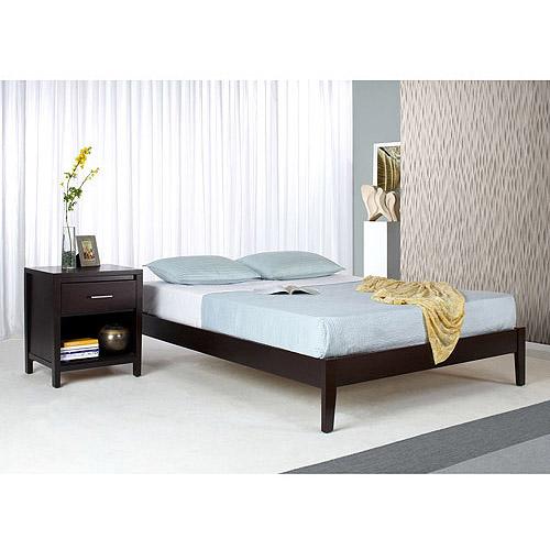 Modus Furniture International Nevis Queen Platform Bed, Espresso