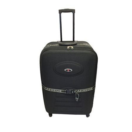 Softside Spinner Luggage 28 inch Expandable Travel Suitcase 360 Spinner Quality 4 Spinning wheels Rolling Upright Traveling Case