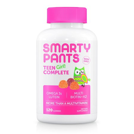 Smartypants Teen Girl Complete  Multivitamin Gummy  120 Ct
