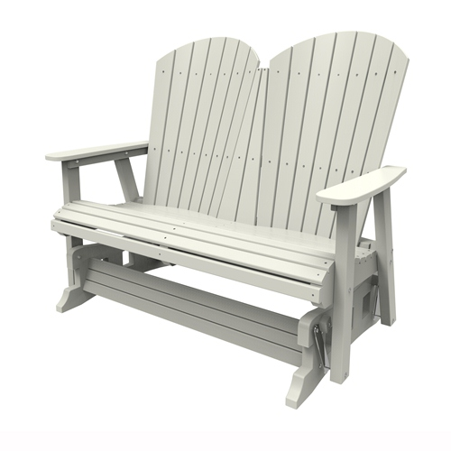 Double Glider by Malibu Outdoor - Hyannis, White