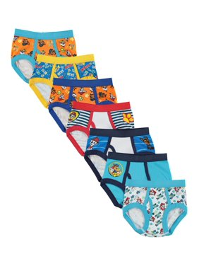 Nickelodeon Paw Patrol Brief Underwear, 7-Pack (Toddler Boys)