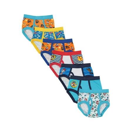 Nickelodeon Paw Patrol Toddler Boys Brief Underwear, 7-Pack