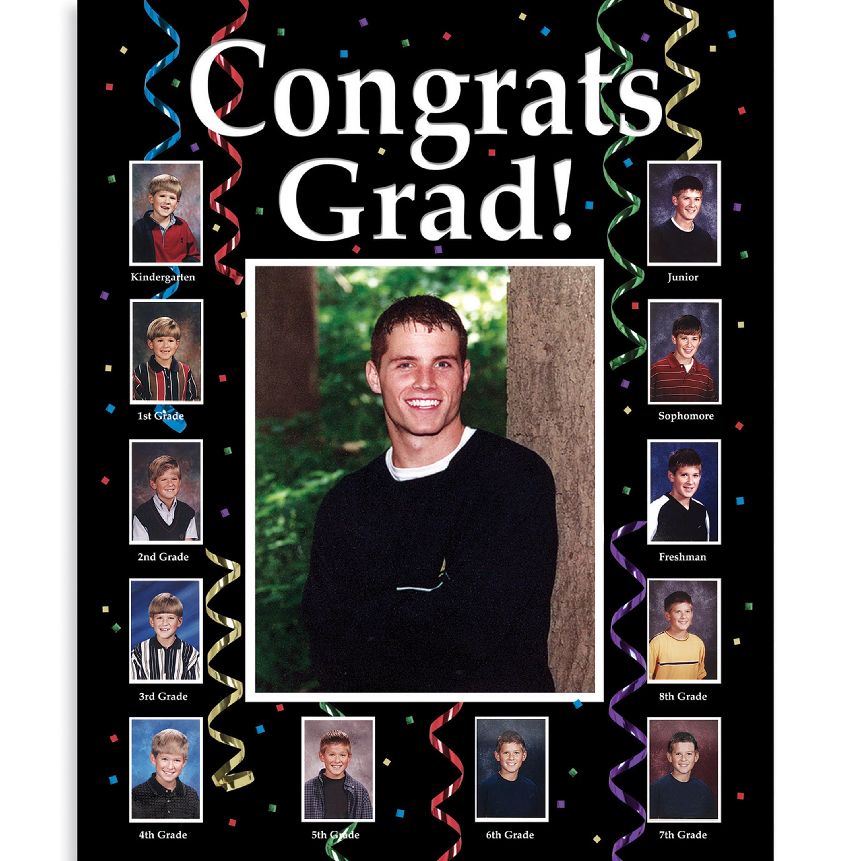 Graduate Through the Years Photo Frame