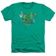 Scooby Doo - Scooby Gang - Heather Short Sleeve Shirt - XXX-Large