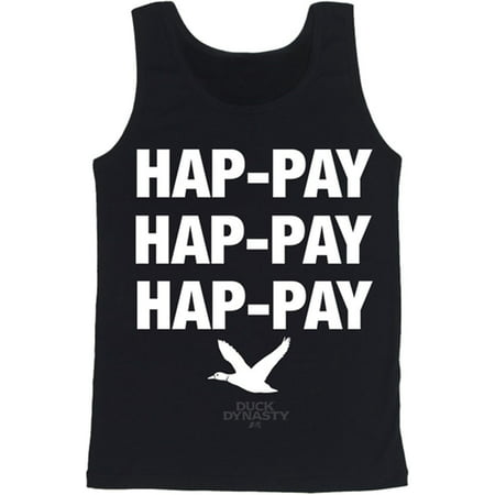 Duck Dynasty Hap-pay TV Show Adult Tank T-Shirt Tee](Duck Dynasty Outfits)