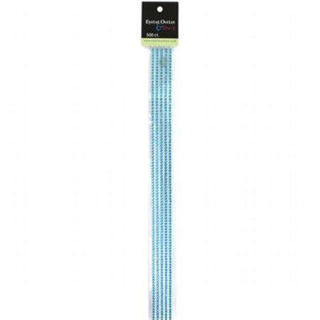 "Bling Self-Adhesive Jewel Strips 12""-Blue"