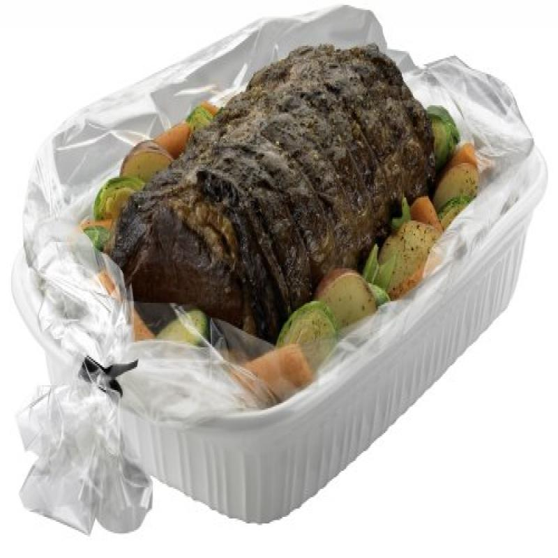 Pansaver Ovenable Pan Liners Oven Roasting Bag With Ties,...