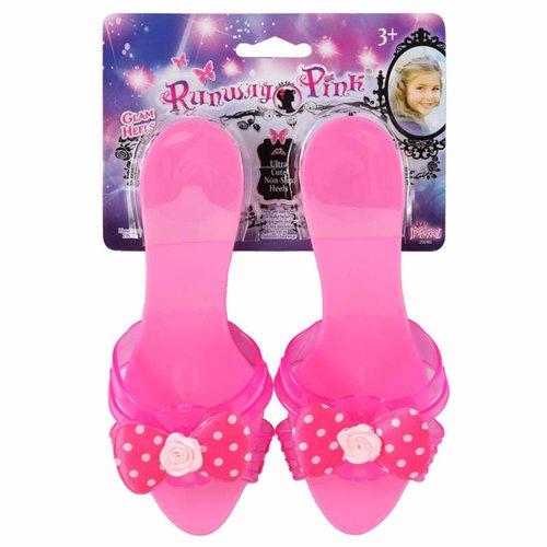 Runway Pink Glam Heels