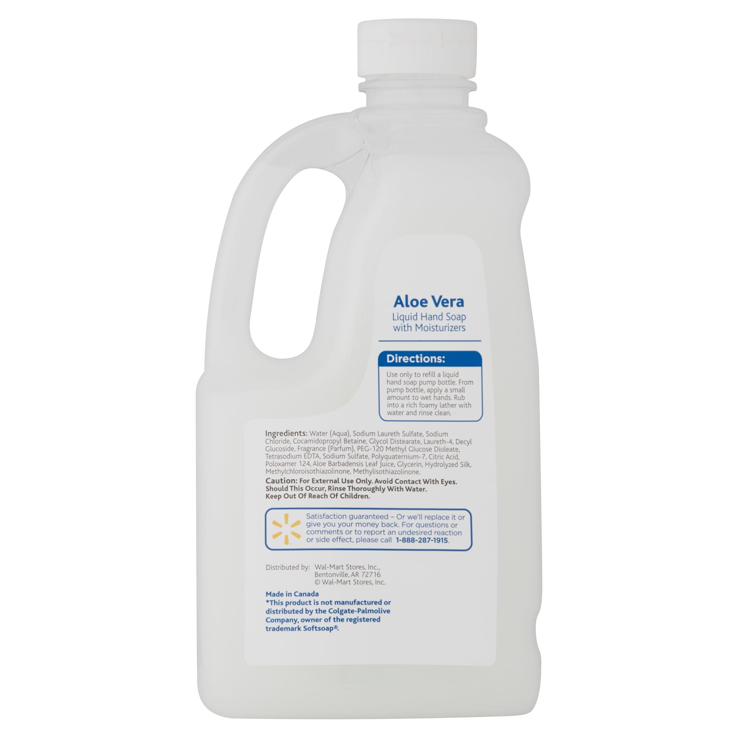 Equate Aloe Vera Liquid Hand Soap with Moisturizers, 56 fl oz