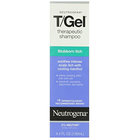 3 Pack - Neutrogena T/Gel Therapeutic Shampoo Stubborn Itch 4.40 oz Each