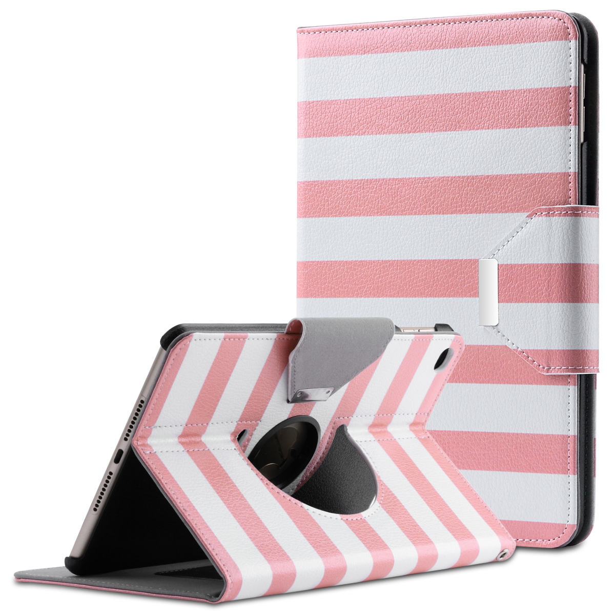iPad Mini 4 Case, ULAK 360 Degree Rotating Magnetic PU Leather Case Smart Stand Cover for Apple iPad Mini 4 (2015 Release) with Auto Sleep & Wake up Features ( Follow the sky)