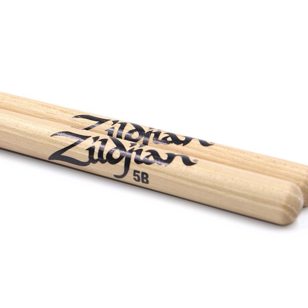 Zildjian 5BWN 5B Wood Natural Drumsticks