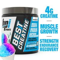 BPI Sports Best Creatine Powder, Snow Cone, 50 Servings