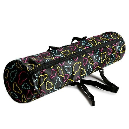 Yoga Mat Bag Water Repellent Mat Carrying Pack Zippered Mat Storage Bag with Phone Pocket ()