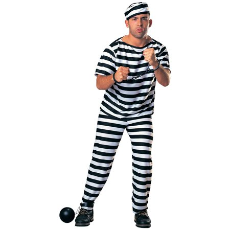 Prisoner - Adult Costume](Dog Costume Prisoner)