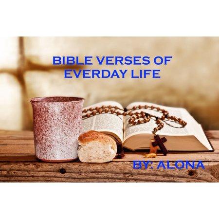 Bible Verses of Everyday Life - eBook