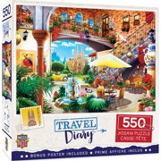 MasterPieces Travel Diary - Barcelo 550 Piece Puzzle