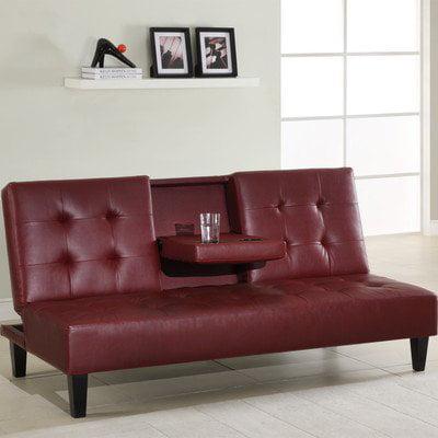 Klik Klak Sleeper Sofa Color Burgundy