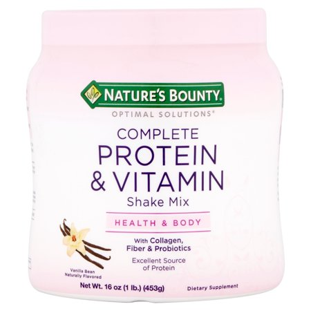 Nature S Bounty Protein Shake Mix Vanilla