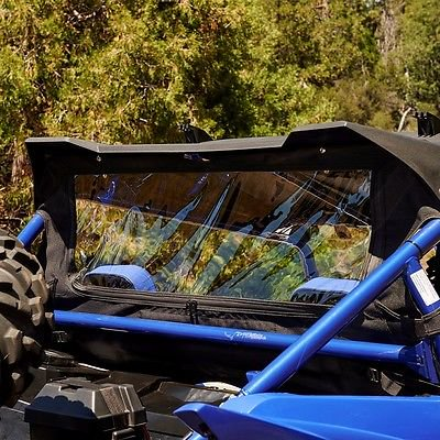 Genuine Yamaha Rear - 2016 GENUINE YAMAHA YXZ1000R REAR ALL-WEATHER WINDOW 2HCK750AV000