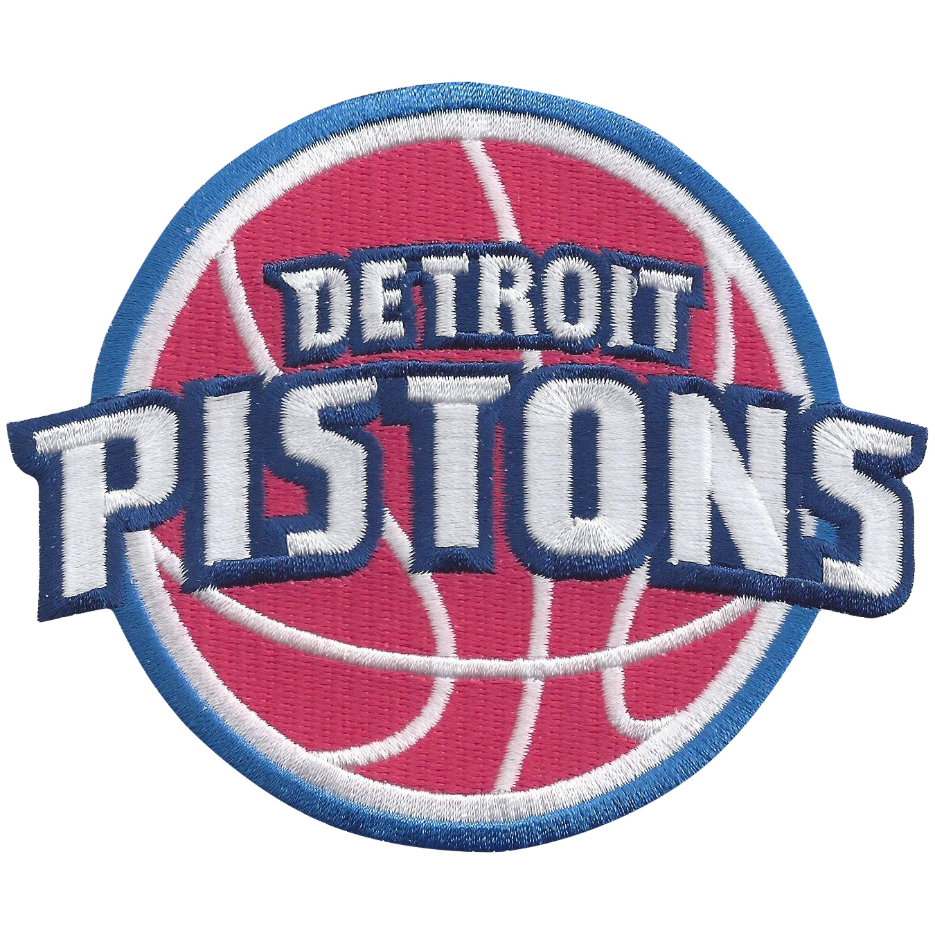 Detroit Pistons Embroidered Team Patch - No Size
