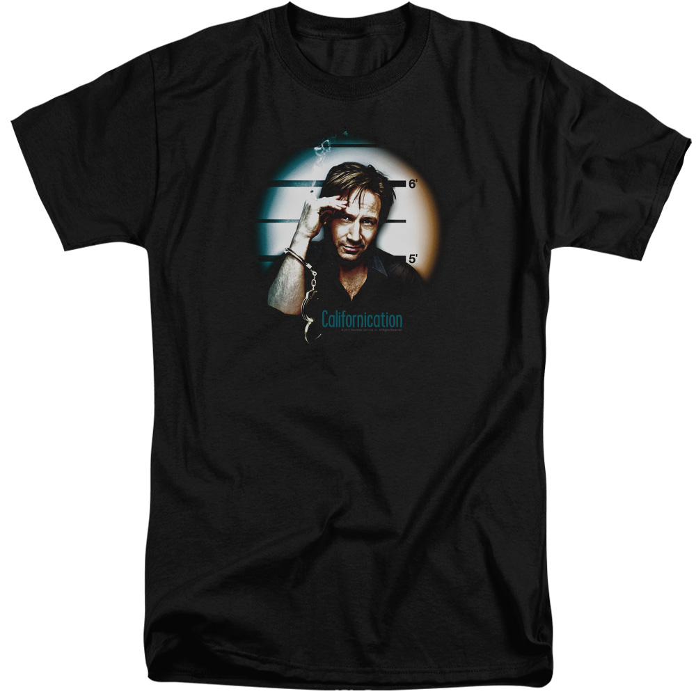 Californication In Handcuffs Mens Big and Tall Shirt