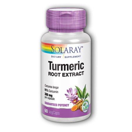 Turmeric Root Extract 300mg Solaray 60 -