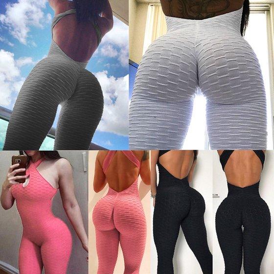 c3c29eb13a58f2 Fancyleo - New Fashion Women Sexy Halter Bodysuit Yoga Sport ...