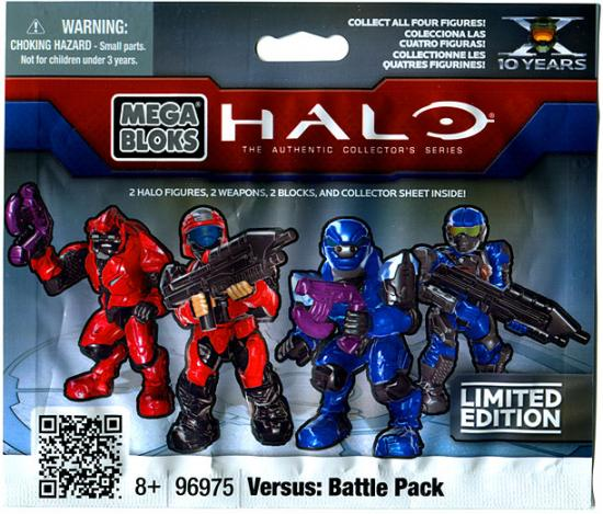 Mega Bloks Halo Versus: Battle Pack Minifigure Mystery Pack by