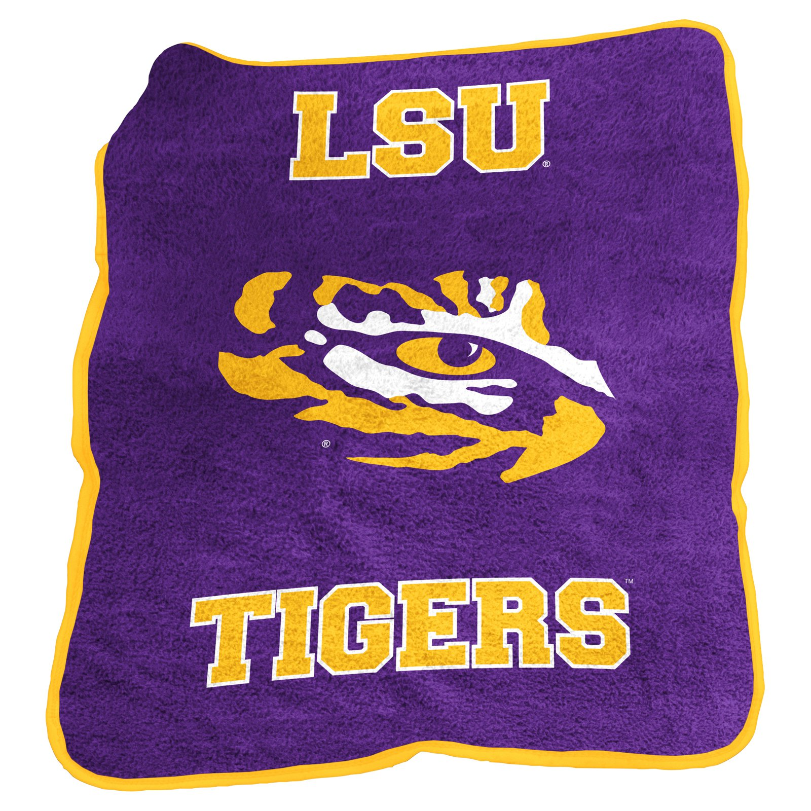 Logo Brands NCAA Team Mascot Throw
