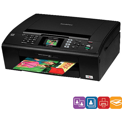 Brother MFC-J220 Inkjet Multifunction with Fax for the Small or Home Office User