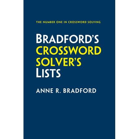 Collins Bradford's Crossword Solver's Lists - eBook - Halloween Crossword Solver