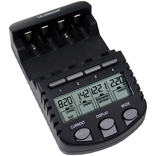 BC700-CBP - Alpha Power Battery Charger for Simultaneous AA and AAA Charging