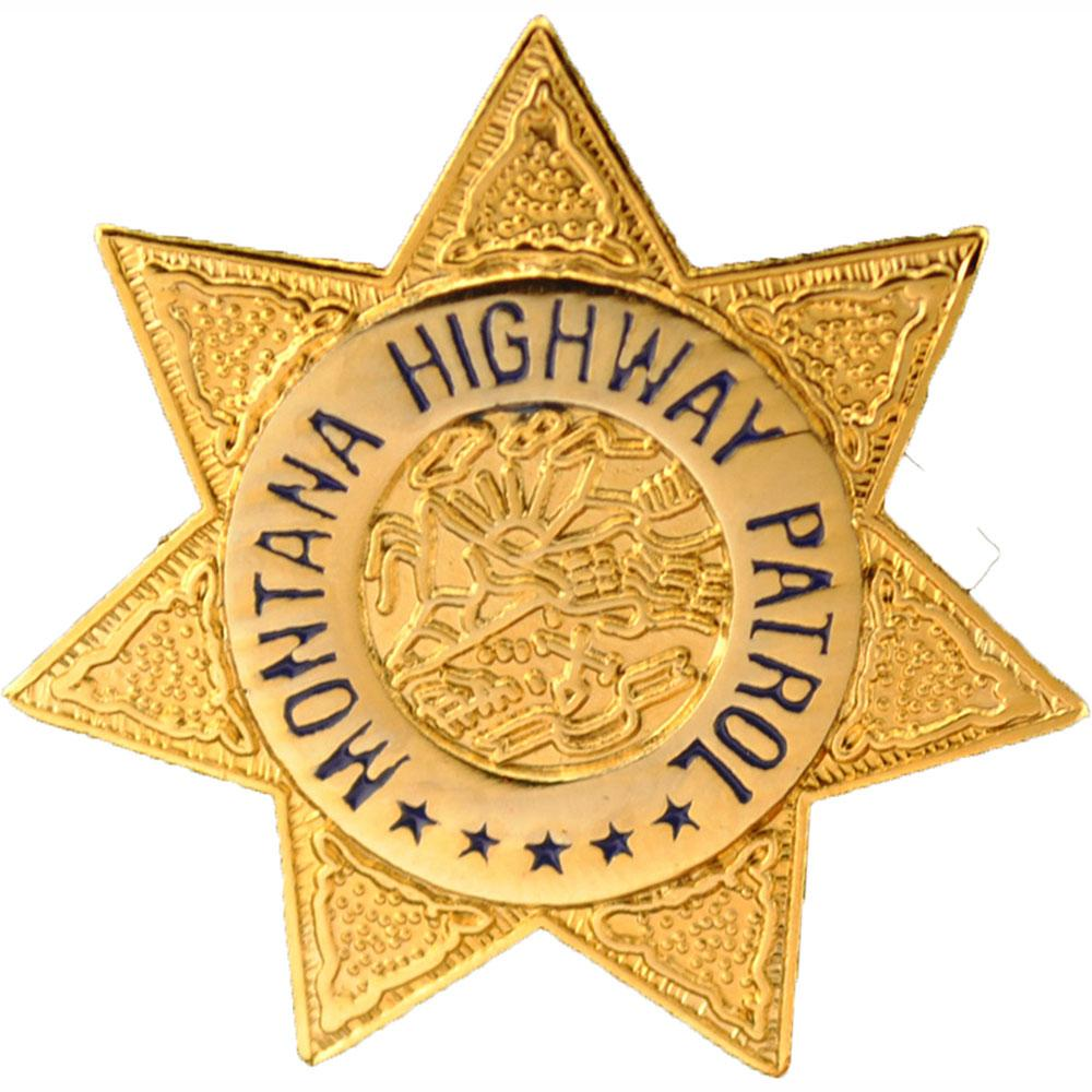 Montana Highway Patrol Badge Pin 1