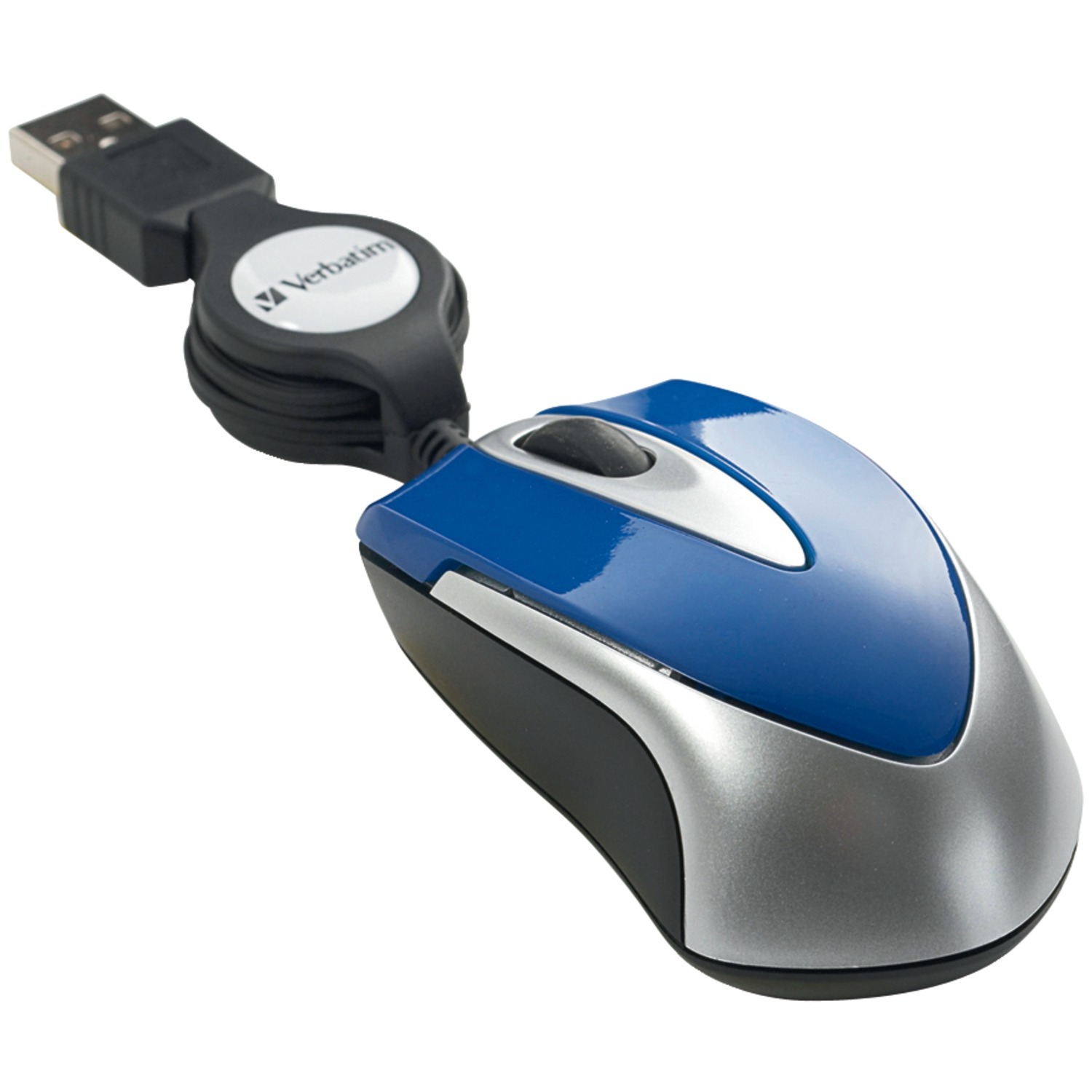 Verbatim 97249 Optical Mini Travel Mouse (Blue)