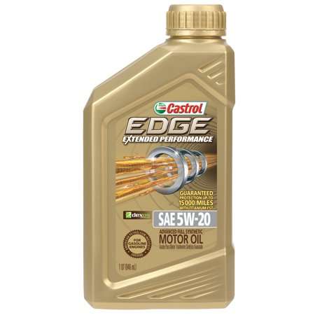 Castrol edge extended performance 5w 20 full synthetic for 99 cent store motor oil