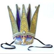 Marquee Costume Mask: Purple